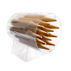 Porta Coni gelato Circolare 96 posti da Banco in Plexiglass Trasparente