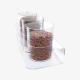 Porta caramelle multiplo 3 contenitori circolari ø 16 H 20 cm