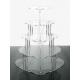 Alzata Cupcake modello Cuore Varie Misure - Plexiglass D'Autore