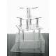 Alzata Cupcake modello Spiral Varie Misure - Plexiglass D'Autore