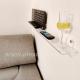 Mensola Connect 10 cm di larghezza realizzata in plexiglass