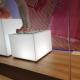 Cubo/comodino Luminoso 40x40x40 - Plexiglass D'Autore