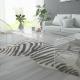 Tavolino da salotto in Plexiglass trasparente con ripiano