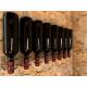 Greco porta bottiglie orizzontale da parete modello 6 8 10 posti