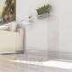 Consolle l100xp30xh74 in plexiglass trasparente spessore 12 - 15 mm
