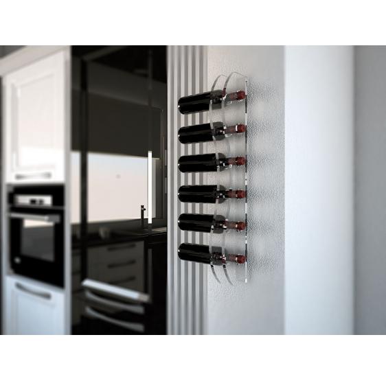 Montepulciano Porta Bottiglia in plexiglass - Plexiglass D'Autore