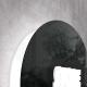 Insegna ovale con profilo retroilluminato
