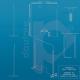 Barriera divisorio di protezione in plexiglass e alluminio scheda tecnica
