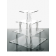 Alzata Cupcake modello Quadrata Varie Misure - Plex D'Autore