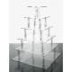Alzata Cupcake modello Quadrato Varie Misure - Plex D'Autore