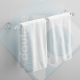 Porta/Appendi Asciugamani in Plexiglass arredo 30cm - Plexiglass D'Autore