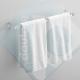 Porta asciugamani tubolare trasparente
