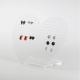 HEART Display Espositore per Orecchini in plexiglass trasparente - Plexiglass D'Autore
