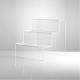 SET n. 3 ALZATE IN PLEXIGLASS trasparente - Plexiglass D'Autore