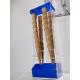 Porta coni in plexiglass con porta cialde e porta cucchiaini - Plexiglass D'Autore