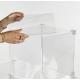 Sistema modulare ad incastro in plexiglass trasparente - Plexiglass D'Autore