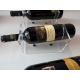 Chardonnay portabottiglie orizzontale da parete.