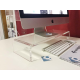 Supporto da Tavolo per TV LCD MAC 21 Pollici Trasparente - Plexiglass D'Autore