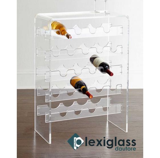 CANTINETTA MOET 20 POSTI - Plexiglass D'Autore