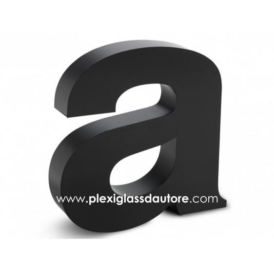 Lettere Scatolate LED in Pvc - Plexiglass D'Autore