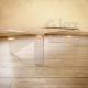 Luxury tavolo basso da salotto trasparente
