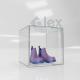 Cubo cm. 40x40x40 in Plexiglass  chiuso su 4 lati - Plexiglass D'Autore