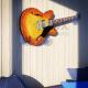 Supporto per montaggio a muro per CHITARRA - Plexiglass D'Autore